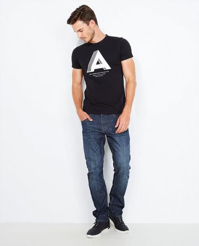 Verwassen jeans, regular fit